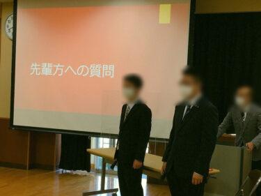 利用者のTさんが母校で卒業生代表として発表してきました!